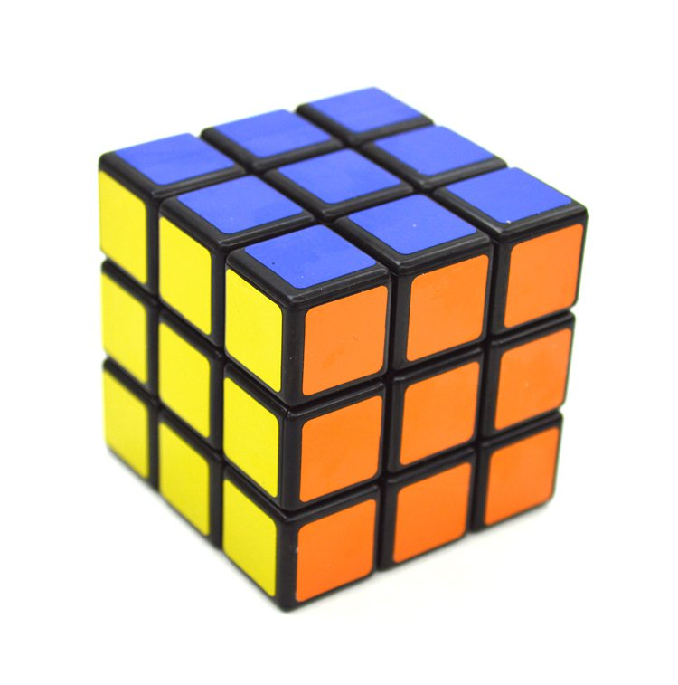 3x3x3 Rubik's Cube Magic Speed Cube Twist Puzzle Rubik Intelligence Toy