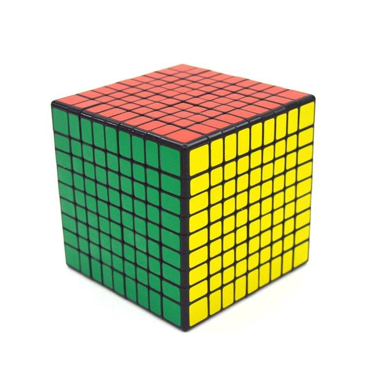 9x9x9 Ultra-smooth Professional Speed Cube Twist Puzzle Rubik Intelligence Toy