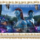 "Edible AVATAR image cake topper 1/4 sheet (10.5"" x 8"")"