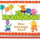 "Edible THE BACKYARDIGANS image cake topper 1/4 sheet (10.5"" x 8"")"