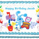 "BLUES CLUES Edible image cake topper 1/4 sheet (10.5"" x 8"")"