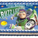 "Edible BUZZ LIGHTYEAR  image cake topper 1/4 sheet (10.5"" x 8"")"