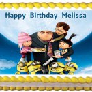"Edible DESPICABLE ME image cake topper 1/4 sheet (10.5"" x 8"")"