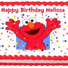 "Edible ELMO Party image cake topper 1/4 sheet (10.5"" x 8"")"