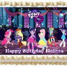 "Edible EQUESTRIA GIRLS image cake topper 1/4 sheet (10.5"" x 8"")"