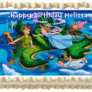 "Edible PETER PAN image cake topper 1/4 sheet (10.5"" x 8"")"