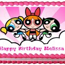 "Edible POWERPUFF GIRLS image cake topper 1/4 sheet (10.5"" x 8"")"
