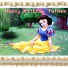 "Edible SNOW WHITE image cake topper 1/4 sheet (10.5"" x 8"")"