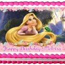 "Edible TANGLED Rapunzel image cake topper 1/4 sheet (10.5"" x 8"")"