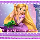 "Edible TANGLED Rapunzel image cake topper 1/4 sheet (10.5"" x 8"")"