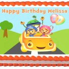 "Edible TEAM UMIZOOMI image cake topper 1/4 sheet (10.5"" x 8"")"