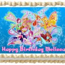 "Edible WINX CLUB image cake topper 1/4 sheet (10.5"" x 8"")"