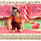 """Edible WRECK IT RALPH image cake topper 1/4 sheet (10.5"""" x 8"""")"""