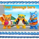"""Edible SPECIAL AGENT OSO image cake Topper 1/4 sheet (10.5"""" x 8"""")"""