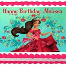 "Edible ELENA OF AVALOR image cake Topper 1/4 sheet (10.5"" x 8"")"