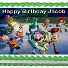 "Edible TOY STORY image cake Topper 1/4 sheet (10.5"" x 8"")"