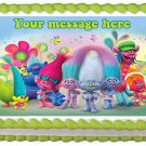 "Edible TROLLS image cake Topper 1/4 sheet (10.5"" x 8"")"