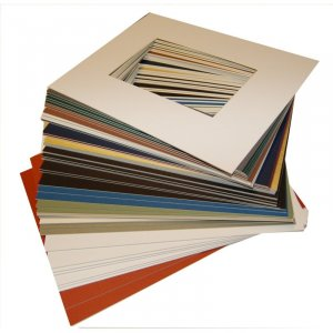 5 x 7 Rect Photo Mat - Pkg of 50 -  (3.75 x 4.75 opening)