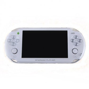 JXD S5110b 5-Inch 8GB Game Handheld Console Tablet PC (White) - Cortex A9 Dual