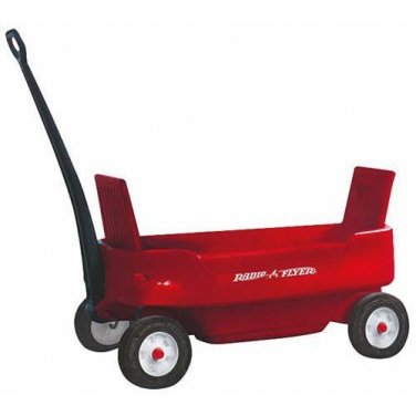 NEW! Radio Flyer 2700Z Pathfinder Wagon, Red Childrens gift stroller Tractor