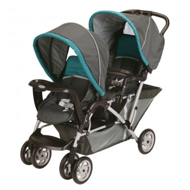 Graco DuoGlider Tandem Folding Double Baby Stroller - Dragonfly 1853476
