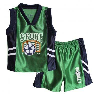 12m Okie Dokie Soccer Shirt Short Set Infant Boys