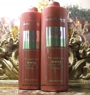 Charles Worthington Big Waves Conditioner 25 Oz X2