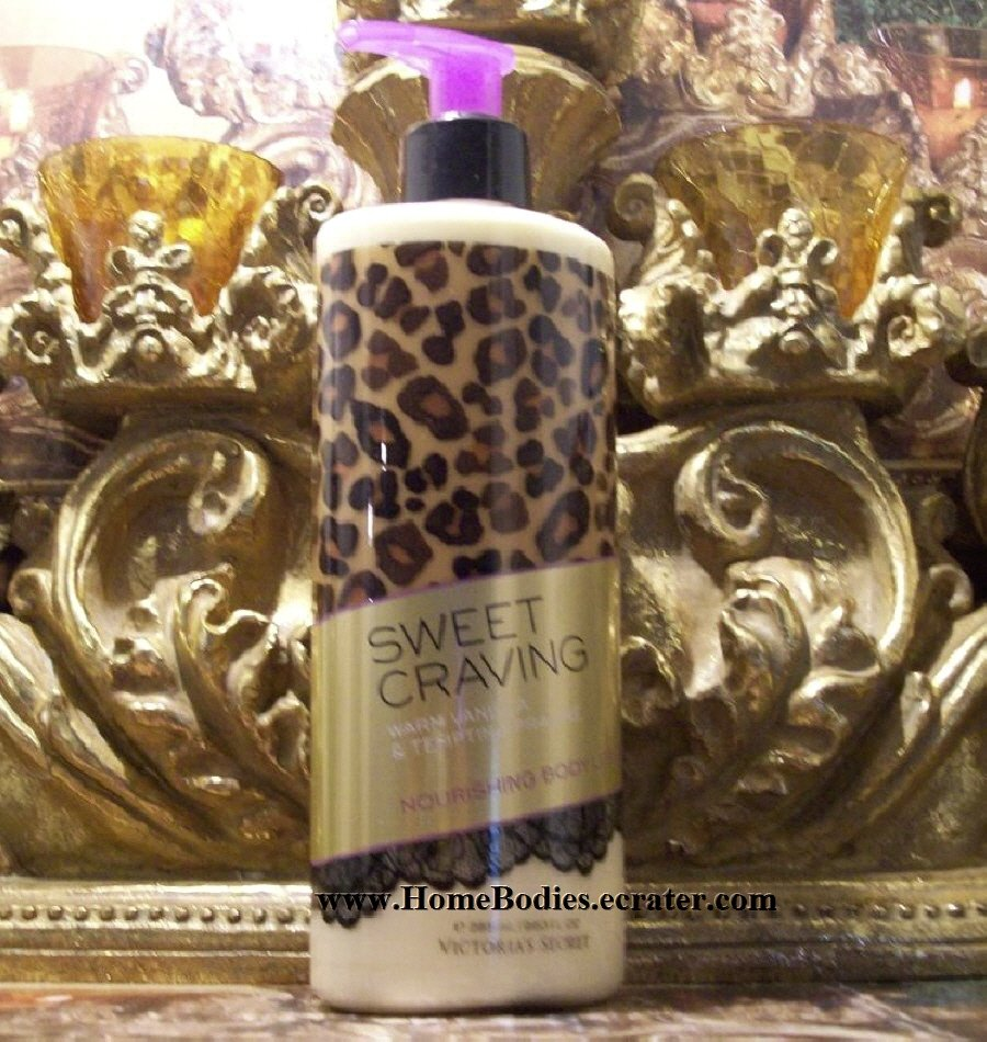 Victoria's Secret Attractions Sweet Craving Body Lotion Warm Vanilla & Tempting Praline