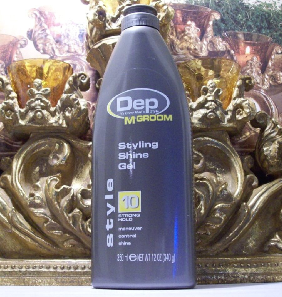 Dep M Groom Styling Shine Gel for Men 10 Strong Hold 12 Oz Schwarzkopf & Henkel