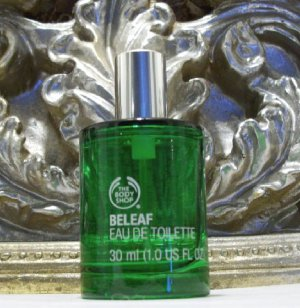 The Body Shop Beleaf Eau De Toilette Perfume Spray 1 Oz 30ml