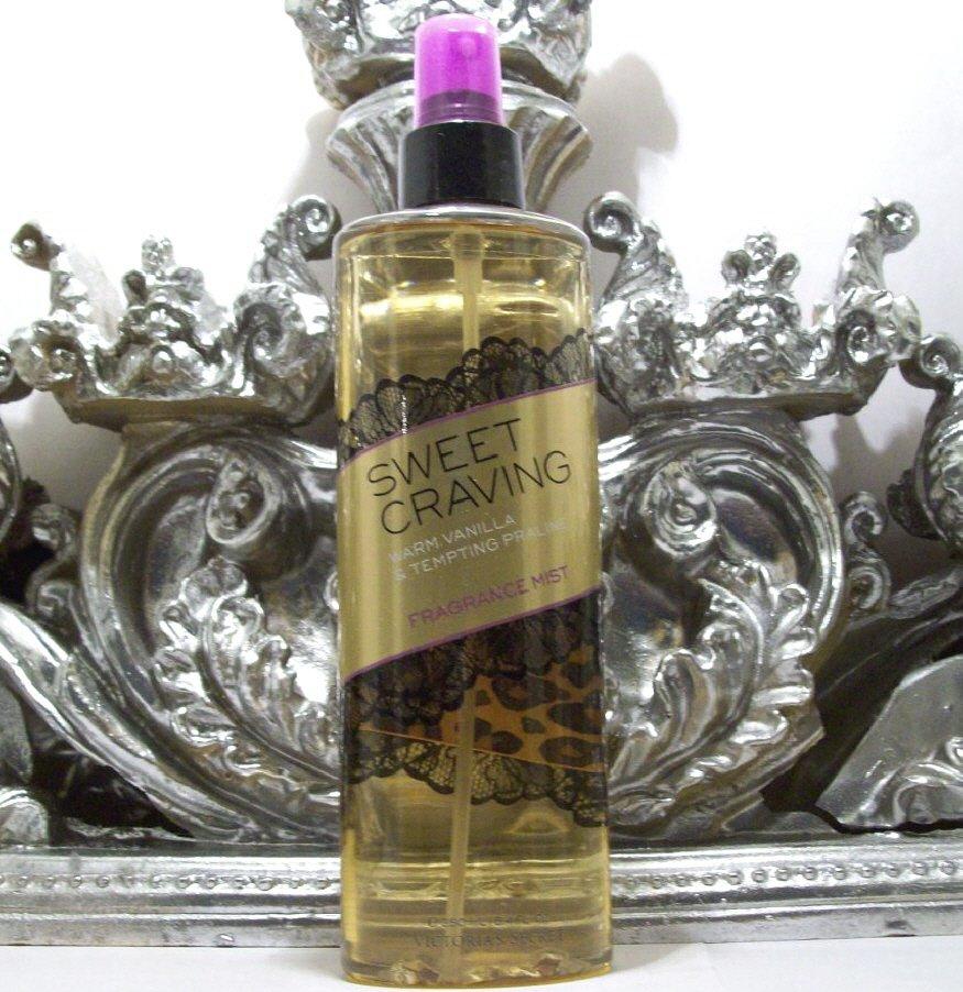 Victoria's Secret Sweet Craving Fragrance Body Mist Warm Vanilla & Tempting Praline