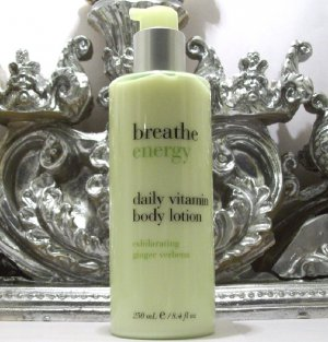 Bath & Body Works Breathe Energy Body Lotion Ginger Verbena