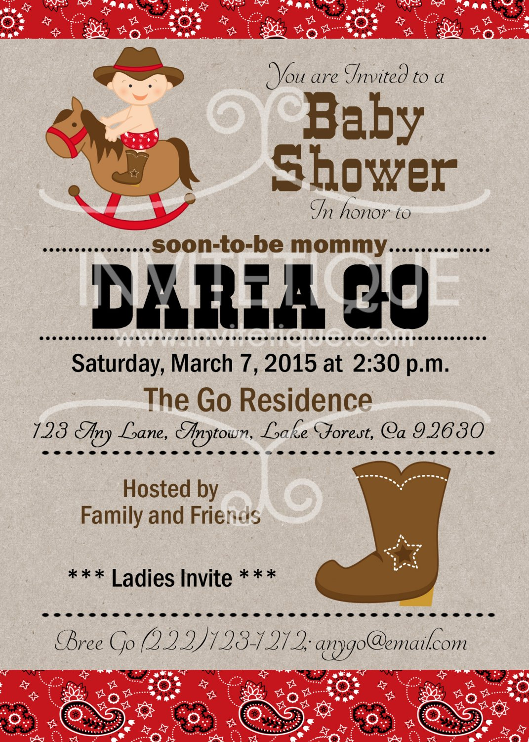 Western party | Western Baby Shower| Brithday