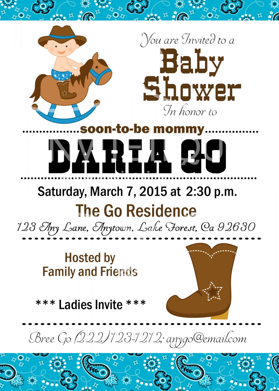 western baby shower western cowboy baby shower birthday cowboy invitations