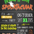 GHASTLY GATHERING HALLOWEEN INVITES | INVITES|Halloween Invitations