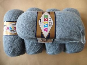 Alize Angora REAL 40 - pack of 5 skeins. Free Shipping