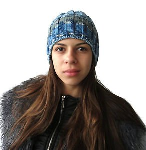 Hand knitted Unisex hat from soft and gentle acrylic yarn. Free shipping!