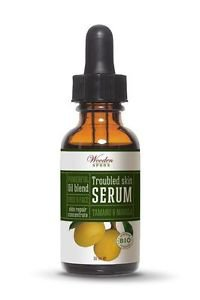 Troubled Skin Serum with Tamanu and Marula oil - BIO Certified. Free Shipping