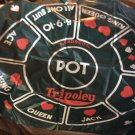 Tripoley game with Poker chips and cards