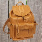 Ropin West Natural Hand Tooled Leather Backpack - XLarge