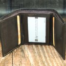 Men's Brown Leather Wallet - Trifold PT2606