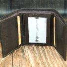 Men's Brown Leather Wallet - Trifold PT2606
