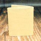 Men's Natural Leather Wallet - Trifold PT2606