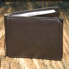 Men's Brown Leather Wallet - Bifold PT2107F