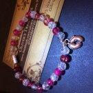 Baby feet charm bracelet