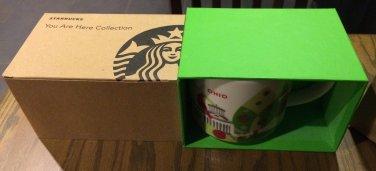Starbucks 2013 You Are Here Series Collectible Starbucks OHIO Coffee Mug