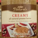 All Natural Peanut Butter Creamy