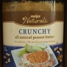 Crunchy All Natural Peanut Butter