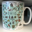 Jumbo Ohio Mug Coffee Tea 27 oz Mug