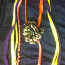 1 Of A Kind Amys Designs SCARF NECKLACE , Multicolor. Cool Camouflage Flower